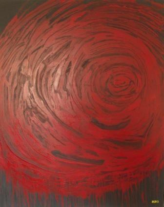 Chris RORO - BLACK AND RED TORNADO (LA TORNADE ROUGE & NOIRE)